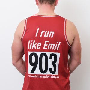 Emil's running tank top – limited edition
