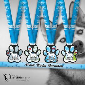 4Paws Winter Marathon